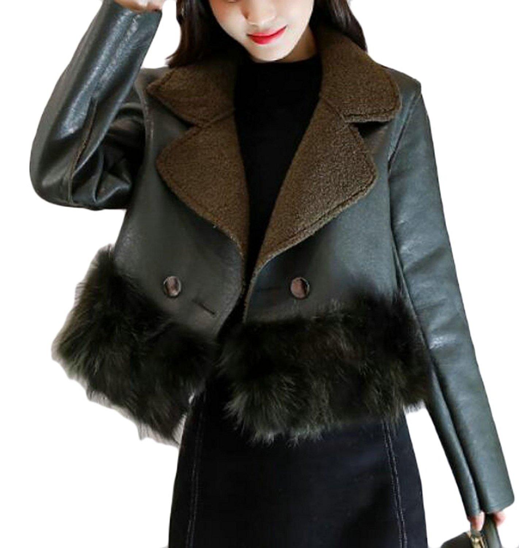 ONTBYB Mens Slim Fit Lapel One Boutton Blazer Coat