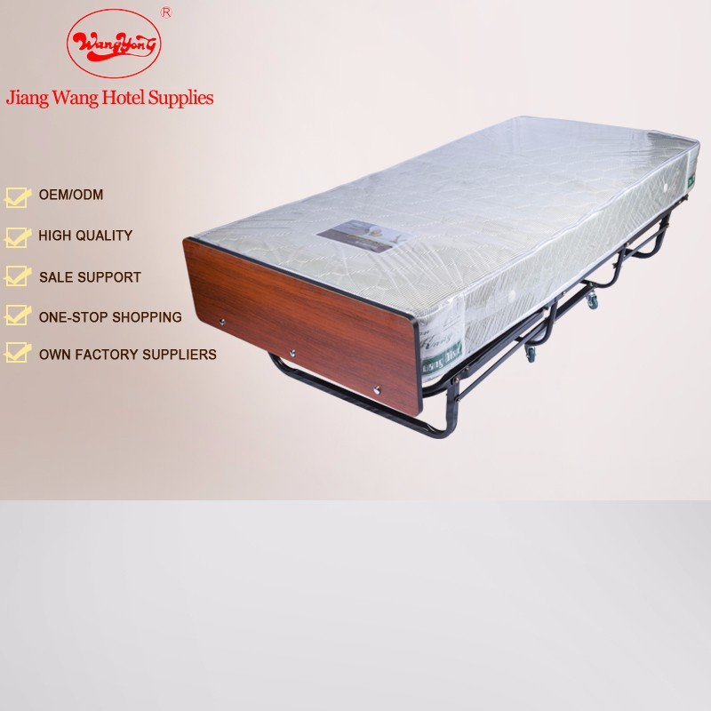 Hotel extra bed metal folding rollaway bed queen size