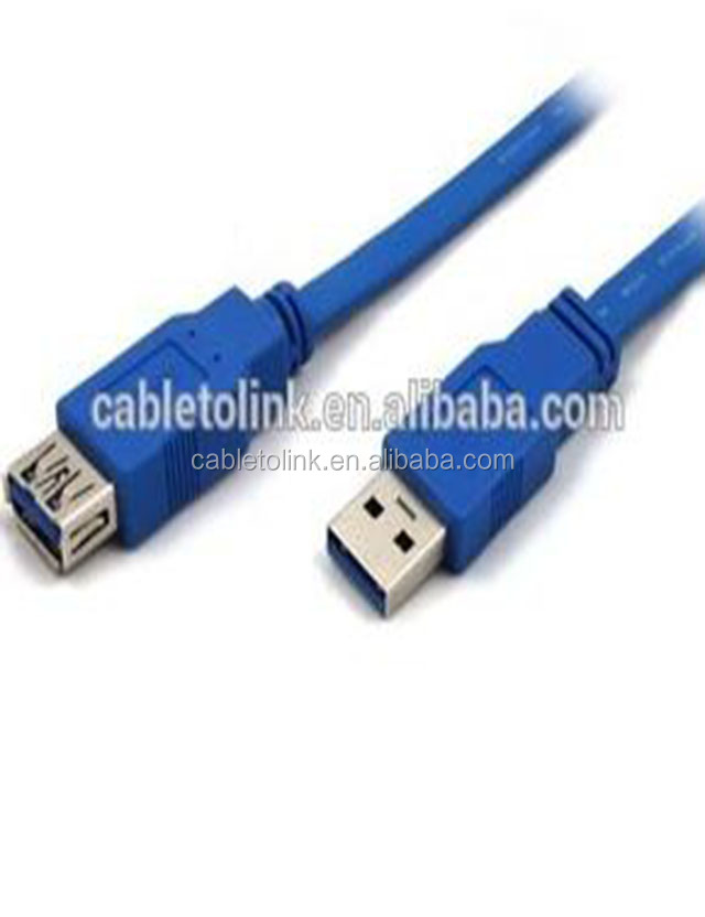 USB 3.0 Extension Cable Type A Male To Female High Speed, Super fast 5Gbps Data Transfer Sync lead (1 Meter)