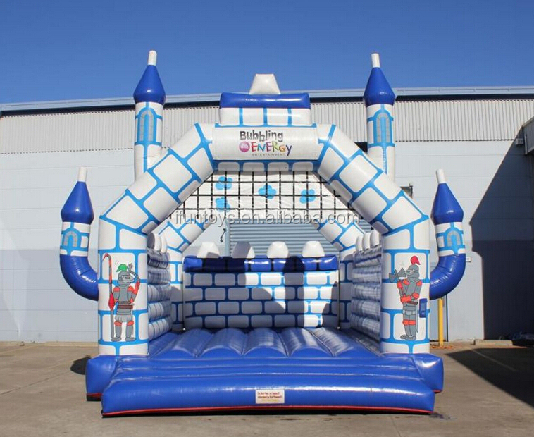 inflatable knight jumping castle / inflatable kingdom castle / inflatable bouncy castle with knights