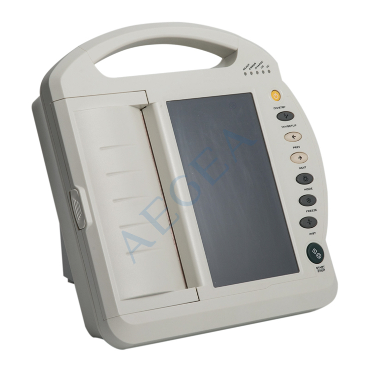 AG-BZ009 Examination therapy 12 channel medical device touch screen digital electrocardiograph portable ecg machine