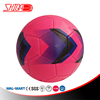 Pink Girl Use Machine Stitched Soccer Ball In Size 5