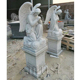 Home Decor Marble Life Size Gothic Angel Statues