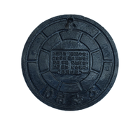 heavy duty cast iron manhole cover frame ductile iron water tank manhole cover