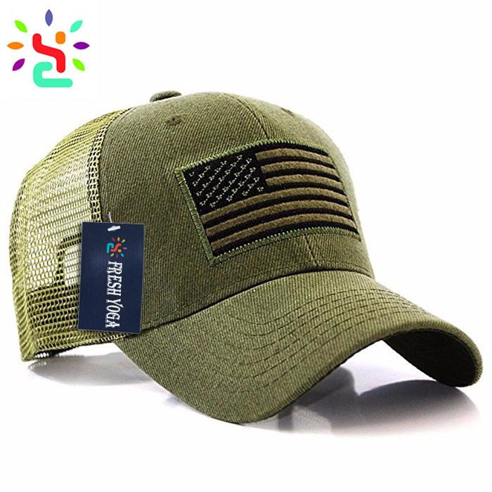 78ff18ac95823 Tactical Baseball Cap Blank Camo Trucker Cap 6 Panel Military Hat Cap  unique design trucker hat Promotion