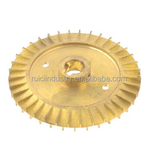 forged brass impeller for pumps