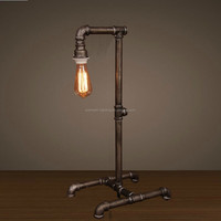 Decoration Lighting Dimmable Vintage Wooden Table Lamp With Fabric ...