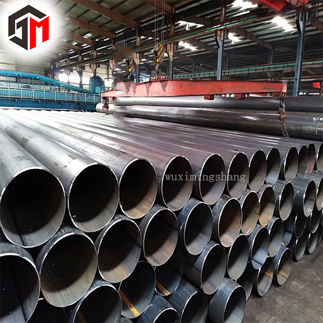 1/2''-12'' steam pipeline /gas pipe / ERW Steel Pipe round