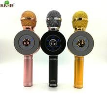 portable cheap professional home cordless mini karaoke microphone,wireless mike for karaoke ws-668