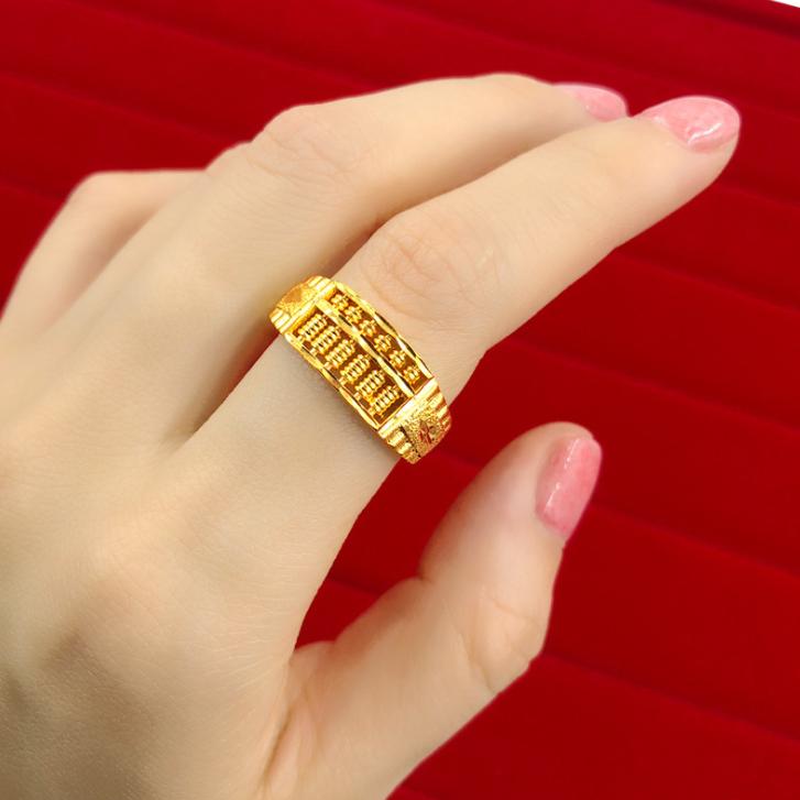 Low Price 24k Gold Ring Price In Saudi Arabia