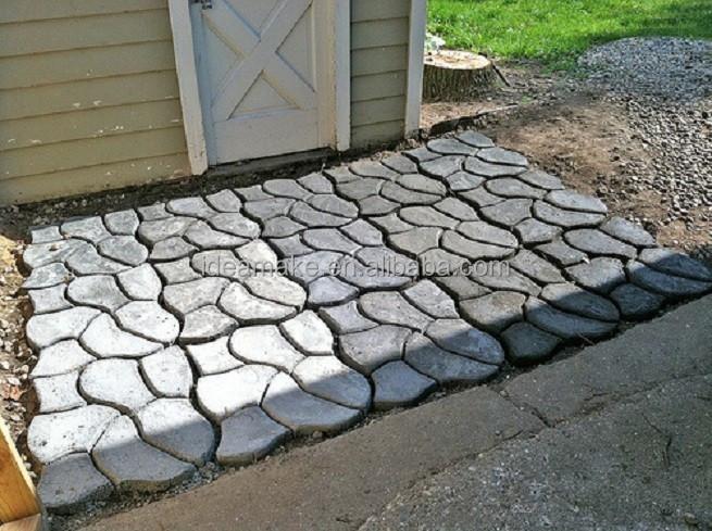 diy paso molde para pavimento caminos camino molde