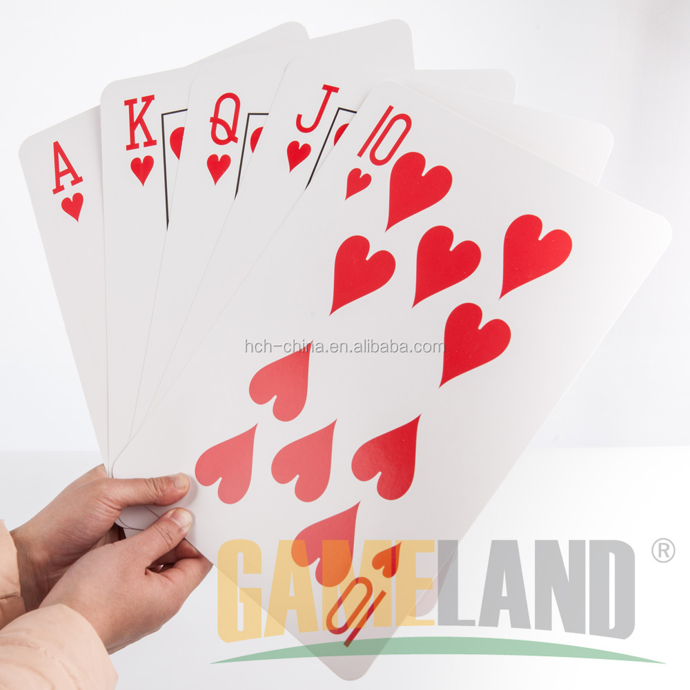 8x12 pollici Carte Da Gioco Jumbo Giant Playing Cards Grandi Carte Da Gioco