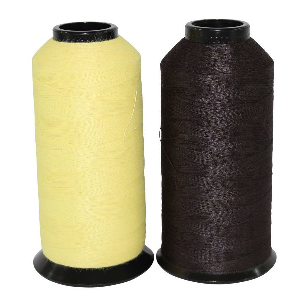 Kevlar Thread Sewing Size 30/3 - SGT KNOTS - 3 Ply Military Grade - Clothing, Leather, Canvas, Gear & Boot Stitching Repair - Crafting, DIY Projects, Commercial, Industrial (4 oz, Natural)