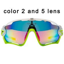 5 Lente Polarized Óculos Ciclismo MTB Estrada Da Montanha Bicicleta Ciclismo  Sunglasses Eyewear Óculos Gafas UV400 dbbf829e34