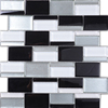 Q007 the strip mosaic of the picture/ glass mosaic and tiles flooring/ glass 5mm mini mosaic tiles painting