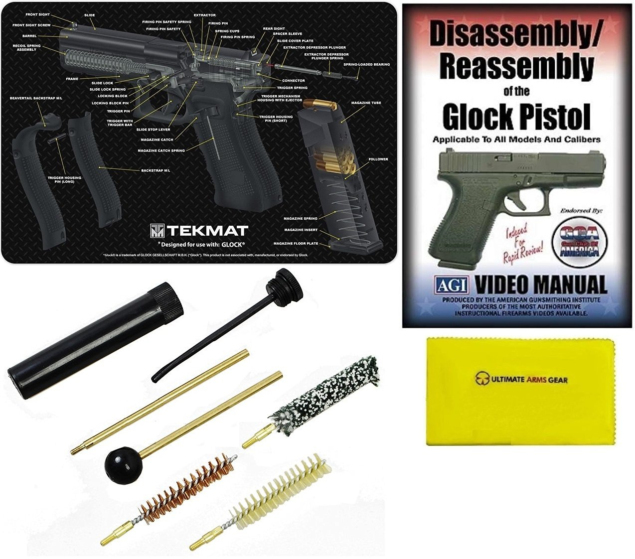 OEM Glock Disassembly Tool Punch Pistol Gun Takedown Parts Maintenance Tools