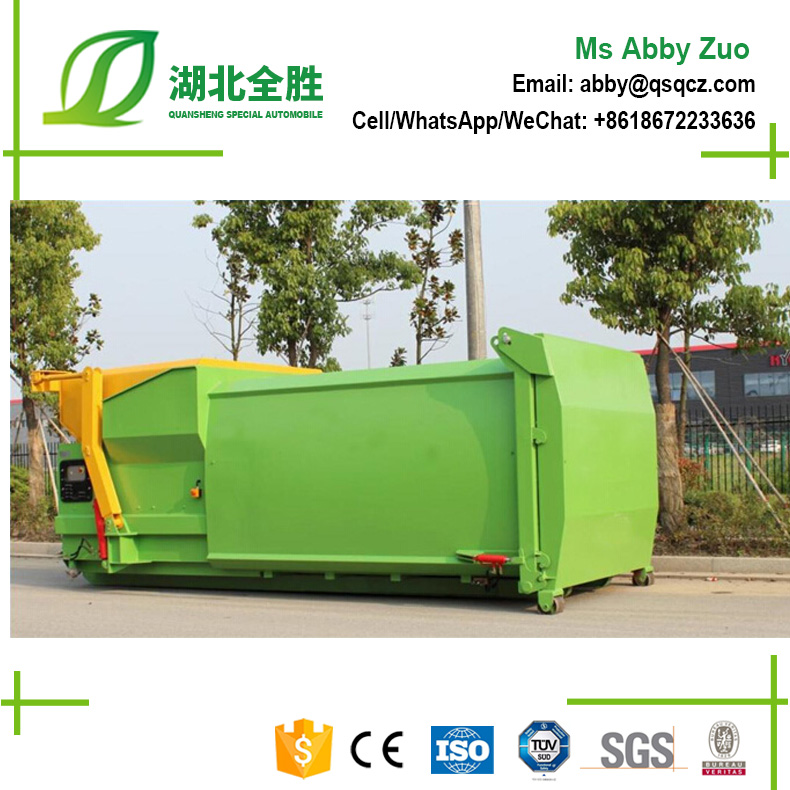 Hottest Mobile Mini Intergrated Hydraulic Garbage Compactor For Sale