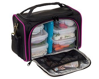 Fitness Insulated Whole Foods Cooler Lunch Box Meal Prep Bag