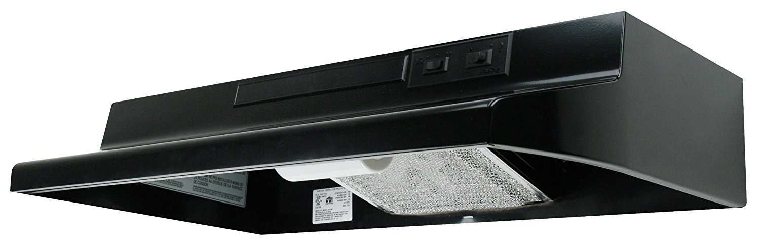 Get Quotations Air King Av1246 Advantage Convertible Under Cabinet Range Hood With 2 Sd Er And 180