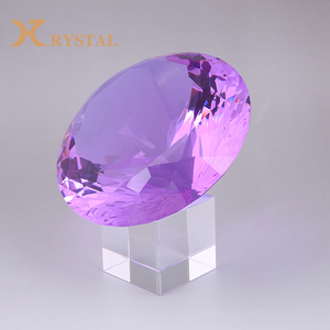 Crystal Glass Synthetic Loose Gemstone Ruby For Jewelry Making