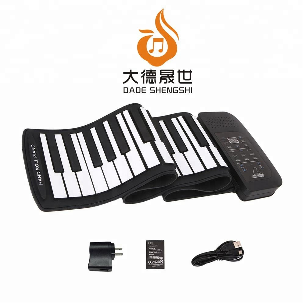 Pianos & Keyboards LED Digital Display 37 Keys Roll-Up