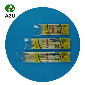 China Wholesale Natural square Promotional long Bamboo Skewer/Sticks