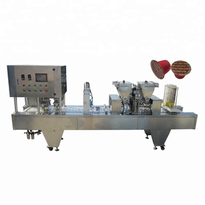 Shanghai manufacturer nespresso coffee capsule 4 molds filling machine
