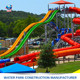 dubai water slide,fiberglass water park slides for sale