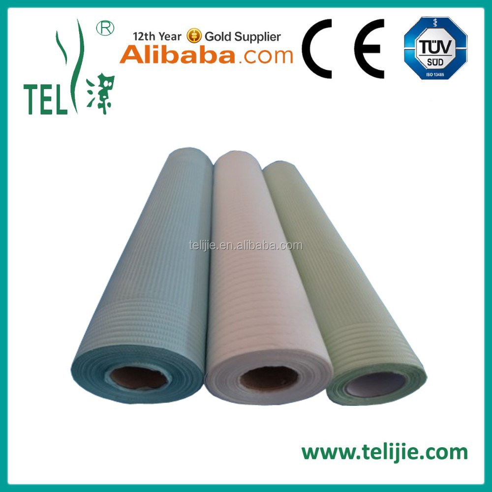 Good quality absorbent disposable bed sheet roll with nonwoven farbic trade assurance supplier