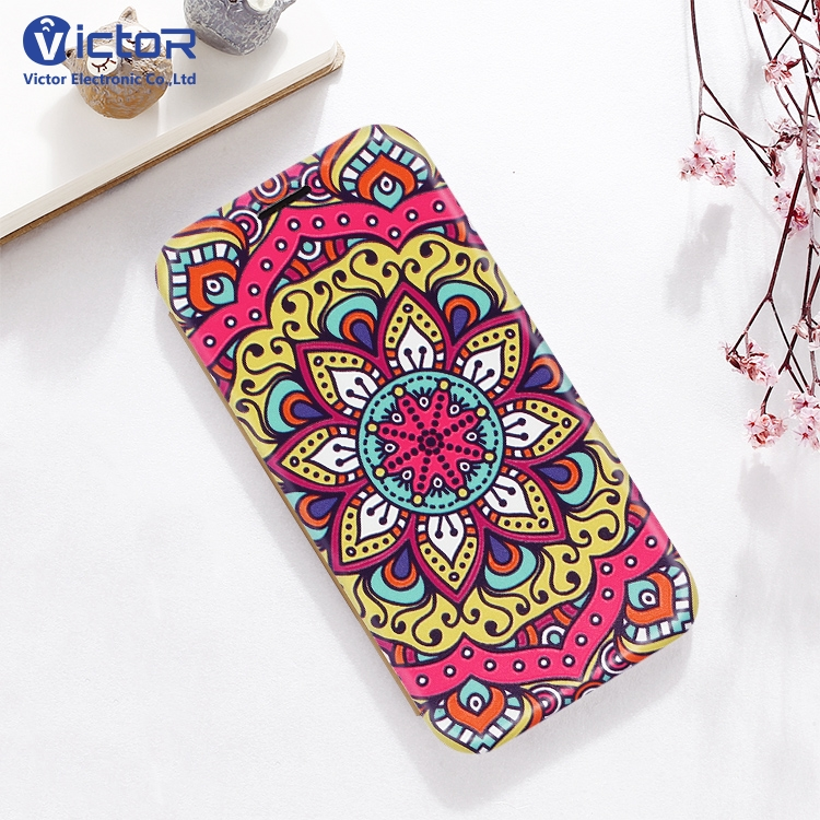 Custom Embossed Shell Flip Leather Phone Case Mobile Phone Accessory For iPhone X
