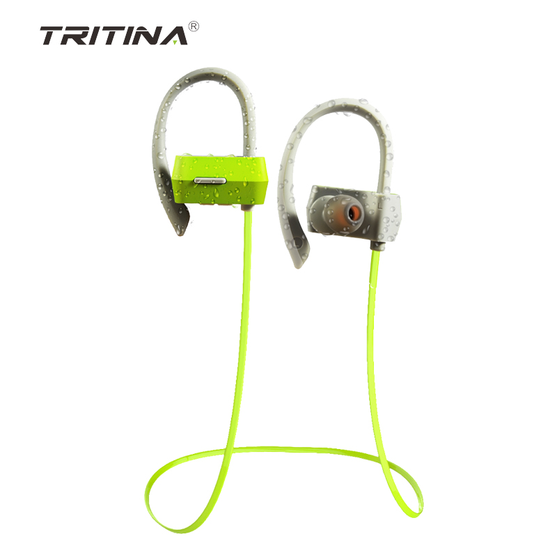 In stock ! Wireless Sports earphone Sweat Proof <strong>Bluetooth</strong> 4.1 with Microphone For Smartphone Tritina FLYBEATS
