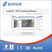GPS Based Vehicle Tracking System GPS GSM Tracker Connect To Software
