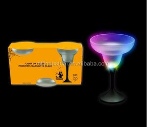 50a2f0bac69 Factory Direct Sale Luminous 3-Pcs Pack Halloween Light Up Margarita Glass