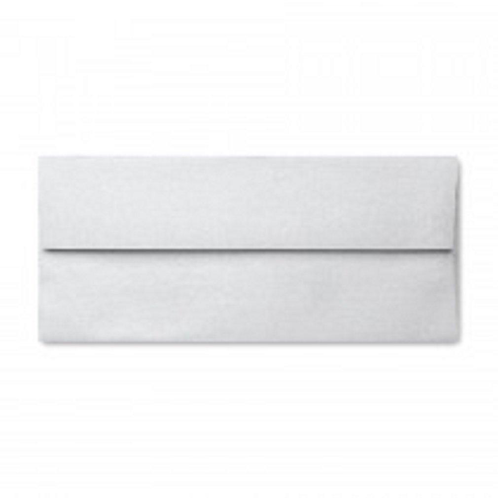Stardream Metallic No10 Commercial w/ square flap (4-1/8 x 9-1/2) ENVELOPES | Color| Silver;Quantity| 100 Pkg
