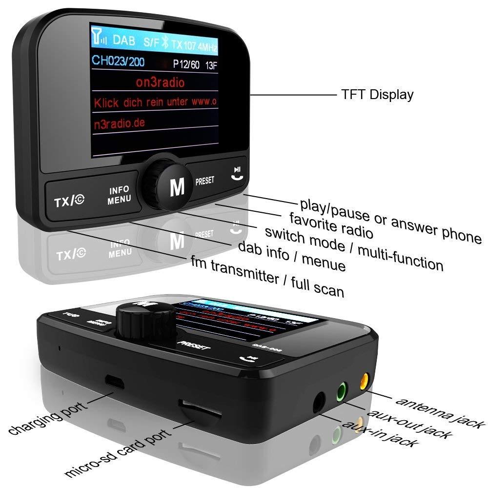 Car Plug-and-play 12v/24v Dab Dab+ Digital Radio Adapter - Buy Car 12v/24v  Dab Digital Radio,Plug-and-play Car Dab Radio,Universal Plug-and-play Car