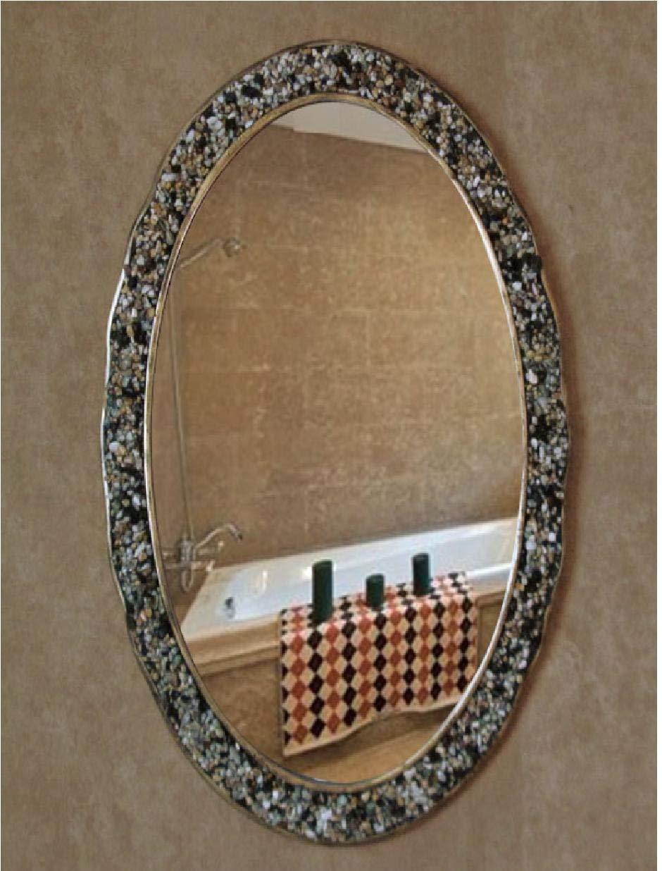 Buy Oval Mirror Frame Decorative Handmade Wall Mounted