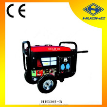 2kw gasoline generator automatic voltage regulator ,gasoline electric generator 5.5hp hot sale!