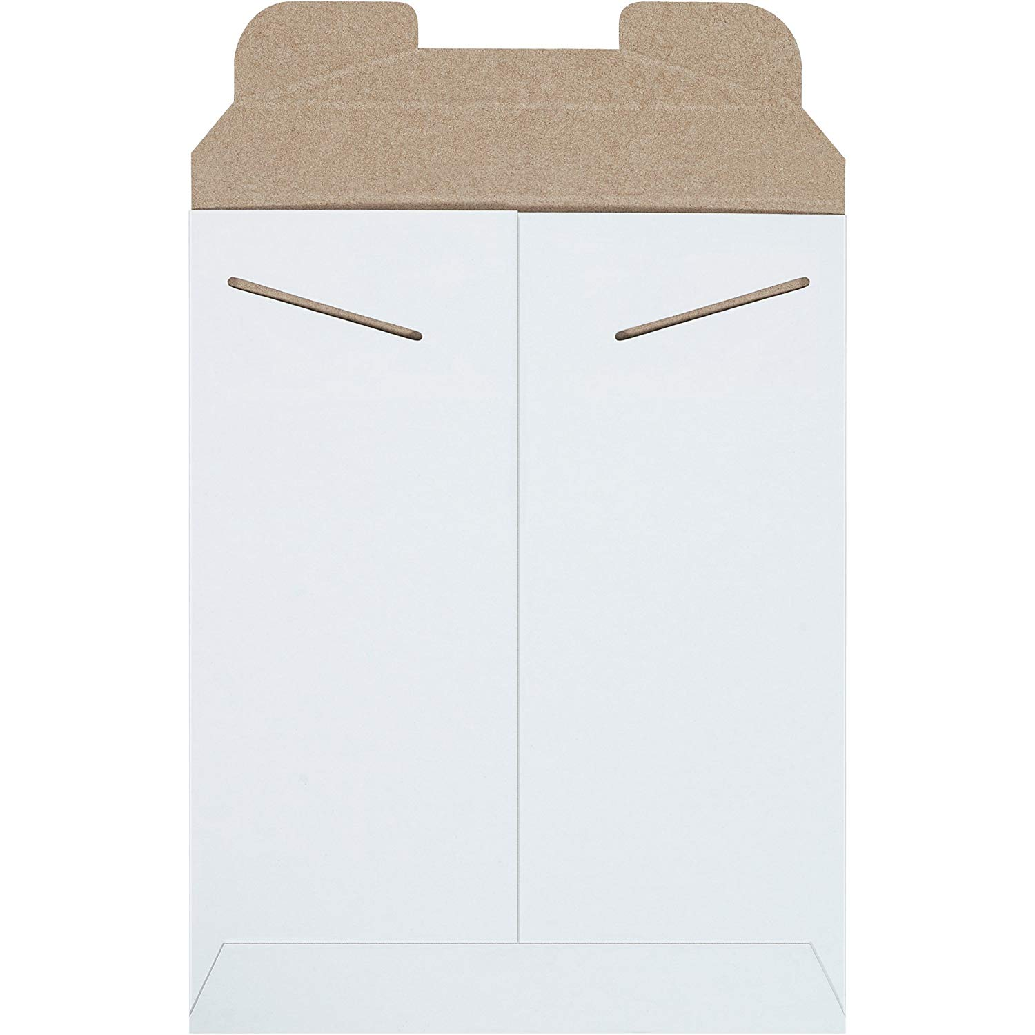 """Boxes Fast BFRM2W Flat Mailers, 9"""" x 11-1/2"""", White (Pack of 100)"""