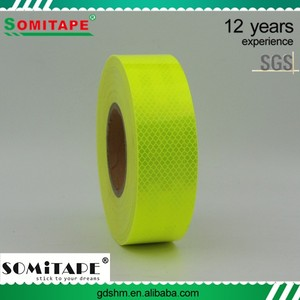 SOMITAPE SH559 Night Reflective Safety Warning Conspicuity Tape with Best Wide-Angle Reflection