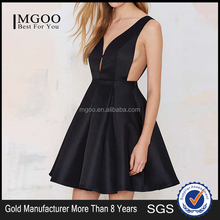 MGOO Cheap Price Women Clothing Factory OEM/ODM Made Sexy Ball Gown Dress for Night Club Deep V Party Dress #25206066