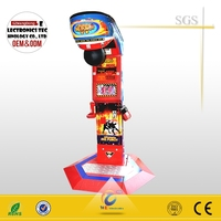 New product at 2015 boxing punch machine / used punching bag arcade machine for sale / punching machine