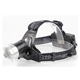 Headlamp Flashlight Base On Rechargeable 18650 Battery Super Bright Headlight Zoomable Head Light To Wear