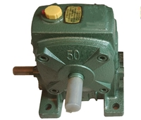 WP50/60/70/80/100 worm gearbox wheel gear speed reducer specialized manufacturer