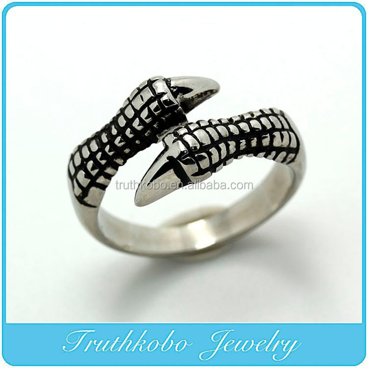 TKB-R0106 Brave Freedom Jewelry Ring Eagle Claws Ring