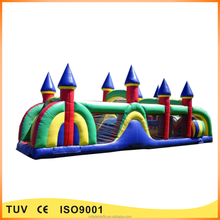 durable pvc inflatable obstacle course inflatable playland for promotion