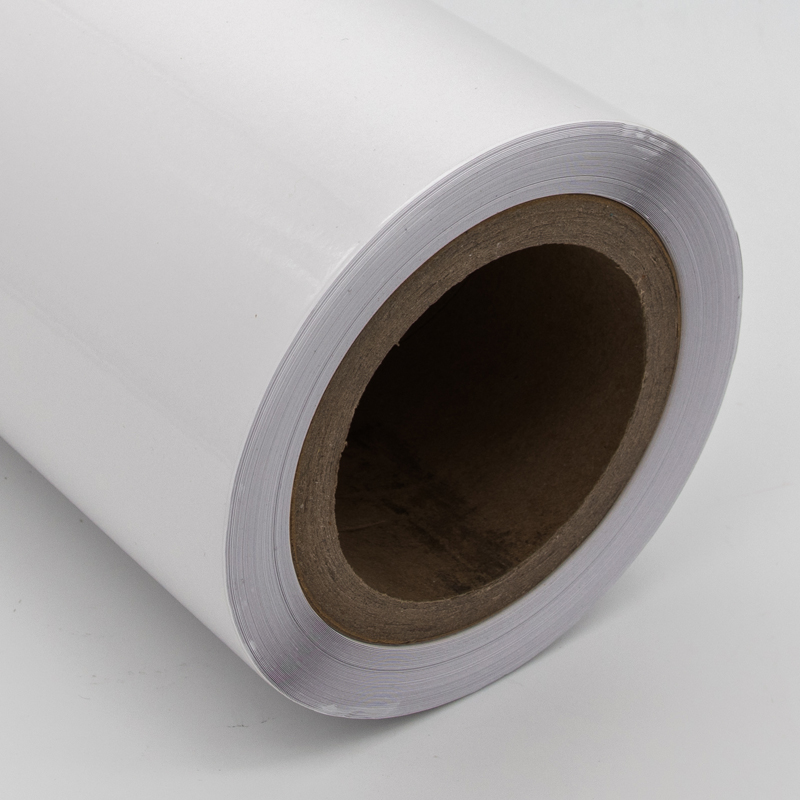 Hoge Kwaliteit 100 micron transparante statische vinyl film roll glas static cling window film