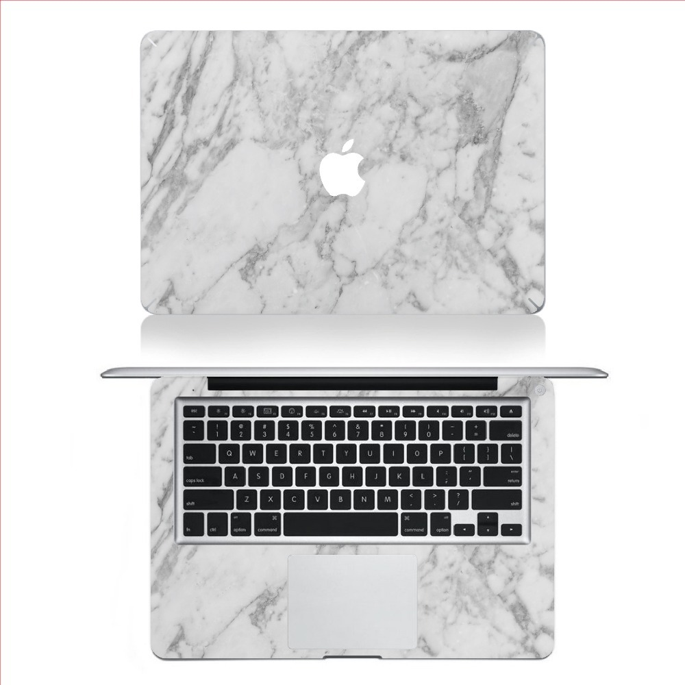 first rate 1e825 35e68 Buy Black Marble Grain Full Body Laptop Decal Sticker For Apple ...