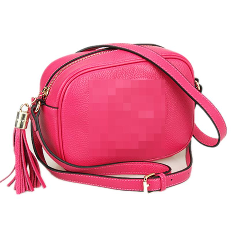 Get Quotations · New product fashion Women messenger Bags 100% genuine  Leather Lady crossbody bag fresh candy colour 218b1ca1b4e90