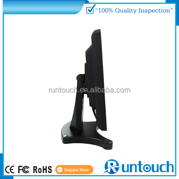 "Runtouch RT-1500 2015 EPOS TILL POS Touch Screen 15 17 19 POS LCD monitor 10"" on stand (not AD player!)"
