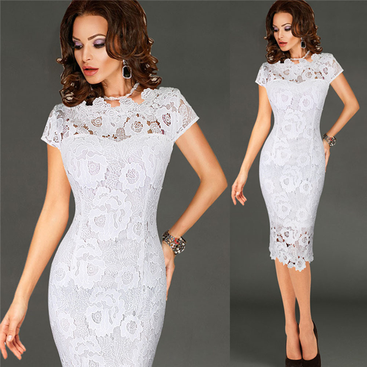 fa0dfee0ce6 2018 New Design Lace Black Women Dresses Casual Lady - Buy Casual ...